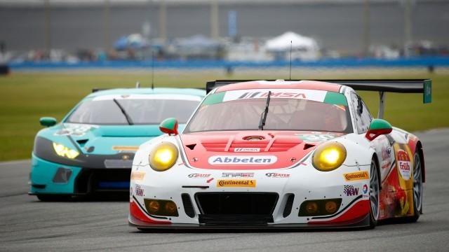 Porsche 911 GT3 R, Frikadelli Racing: Klaus Abbelen, Patrick Huisman, Frank Stippler, Connor De Phillippi, Sven Mueller